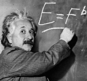 Einstein E =
