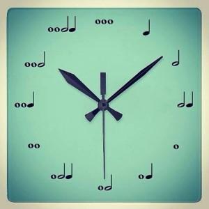 Musicians clock