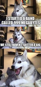 999 Megabytes